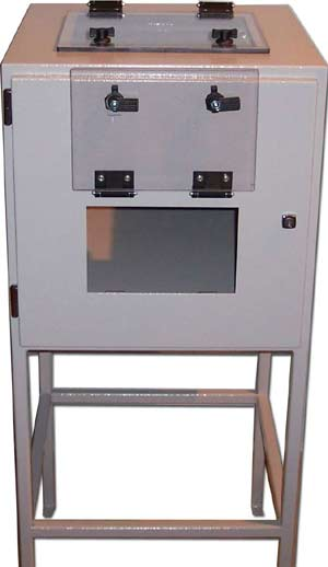 pc cabinet for security and protection